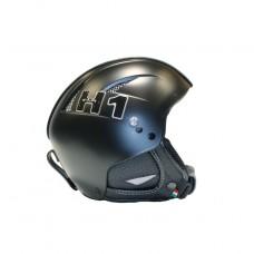 Шлем горнолыжный HMR H1 Soft Nero Con Finiture Pelle (0037)