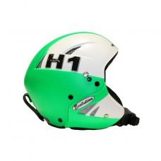 Шлем горнолыжный HMR H1 Evo Bicolore Bianco/Verde Fluo (0057)