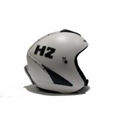 Шлем горнолыжный HMR H2 Bianco Con Swarovski E Finitura Pelle (0607)