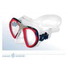 Маска Mad Wave Steel Mask (Красный)